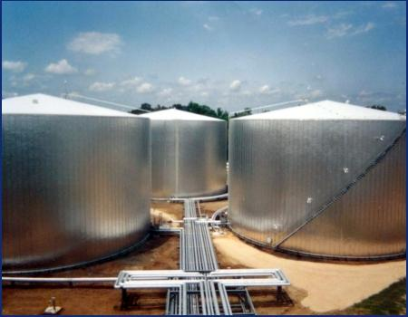 Tank farm insulation